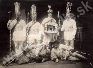 Betlehemci zo Závodia. Zdroj: Rodinný archív Dušana Dorčíka