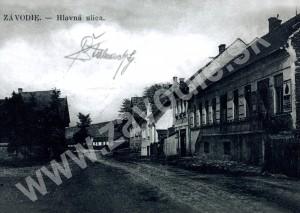Závodie - hlavná ulica